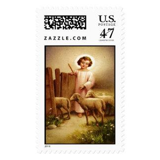 Child Jesus 4B Custom Postage Stamp