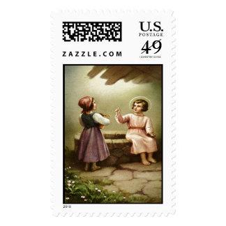 Child Jesus 5B Custom Postage Stamp