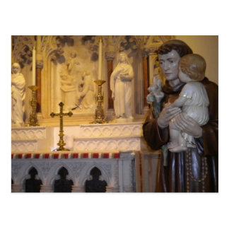 Child Jesus postcard