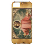 CHILD JESUS WITH ANGELS, Brown Parchment iPhone 5C Covers