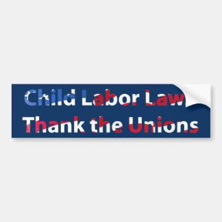 Child Labor Bumper Sticker