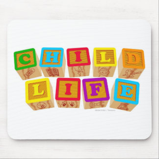 Child Life Blocks Mousepads