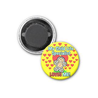 Child Life Specialist Gingerbread Love Magnet Refrigerator Magnet