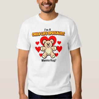 Child Life Specialist Men's Teddy Bear Shirt