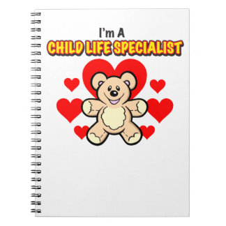 Child Life Specialist Teddy Bear Notebook