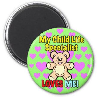 Child Life Specialist Teddy Magnet Fridge Magnet
