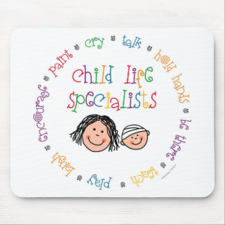 Child Life Specialists Mousepad