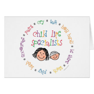 Child Life Specialists Notecard Greeting Cards