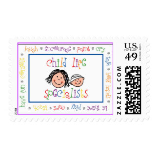 Child Life Specialists postage stamp