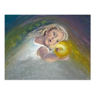 Child-Look of Wonder Postcard