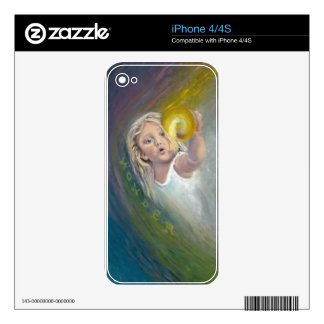 Child-Look of Wonder iPhone 4 Decal