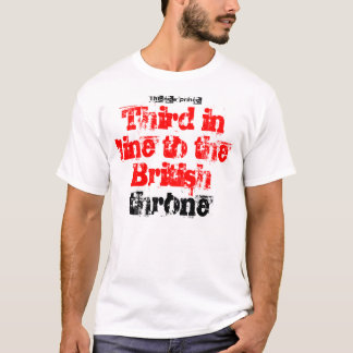 child now third in line to the British throne T-Shirt