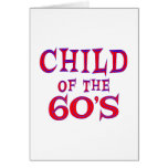 Child of 60s greeting cards