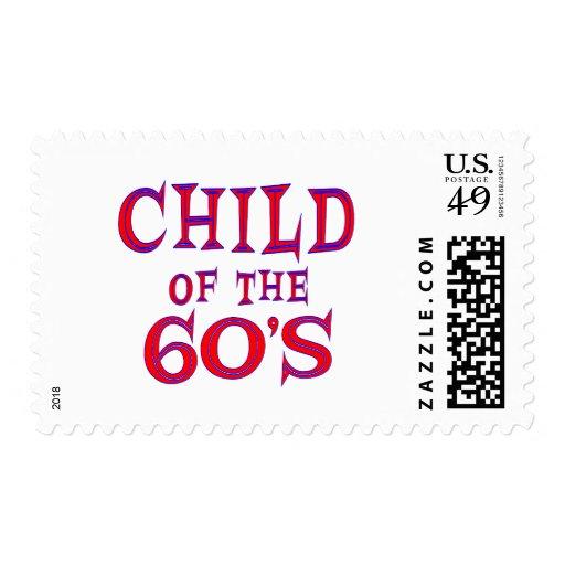 Child of 60s postage