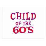 Child of 60s postcard