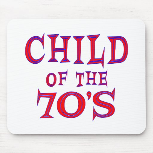 Child of 70s mouse pad