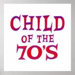 Child of 70s print