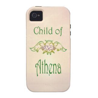Child of Athena Owl Demigod Greek Mythology iPhone 4/4S Cover