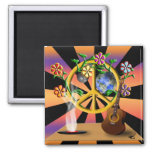 Child of God 2 Inch Square Magnet