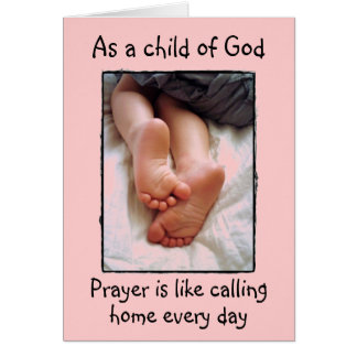 Child of God blank card