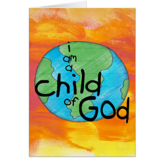 Child of God  Greeting Card