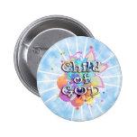 Child of God, Pastel 2 Inch Round Button