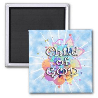 Child of God Pastel Refrigerator Magnets