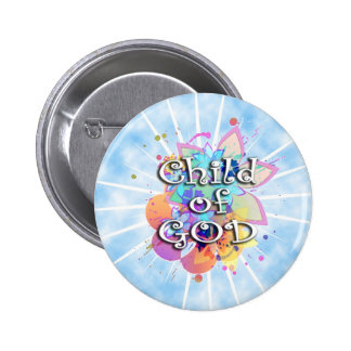 Child of God, Pastel Pinback Button