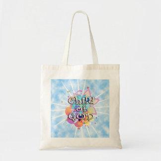 Child of God, Pastel Tote Bag