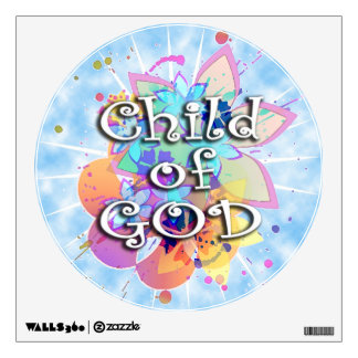 Child of God, Pastel Wall Decal