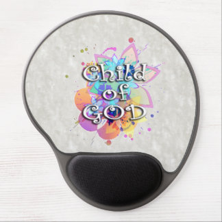 Child of God Rainbow Watercolor Gel Mouse Pads