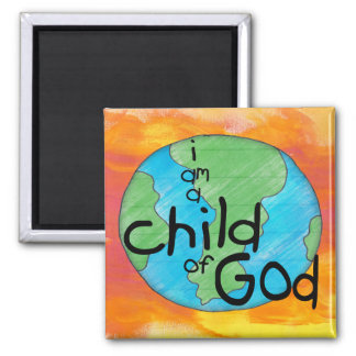 Child of God Refrigerator Magnets