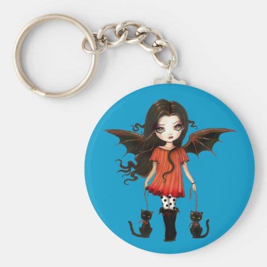 Child of Halloween Cute Vampire Keychain