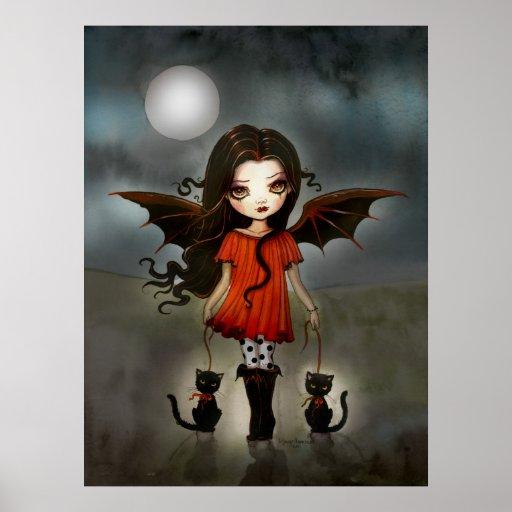 Cute halloween vampire