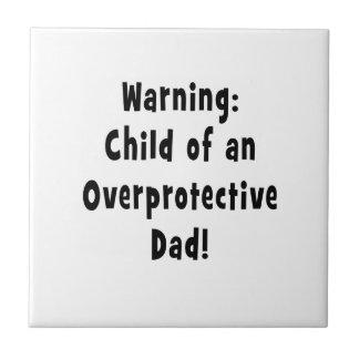 child of overprotective dad black tile