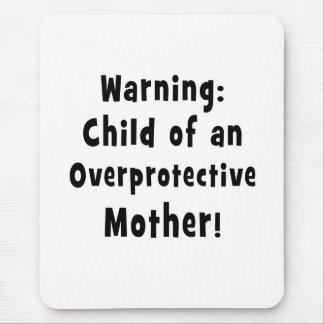 child of overprotective mother black.png mouse pad