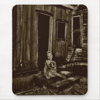 Child Of Poverty Mouse Pad