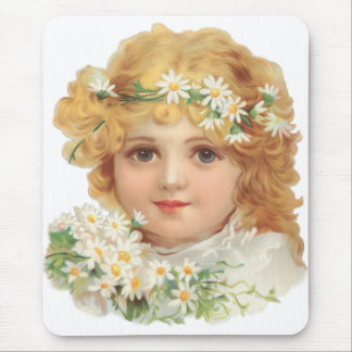 Child of Spring Mouse Pad