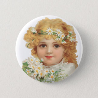 Child of Spring Pinback Button