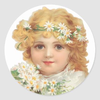 Child of Spring Stickers