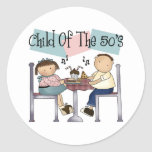 Child Of The 50's Stickers