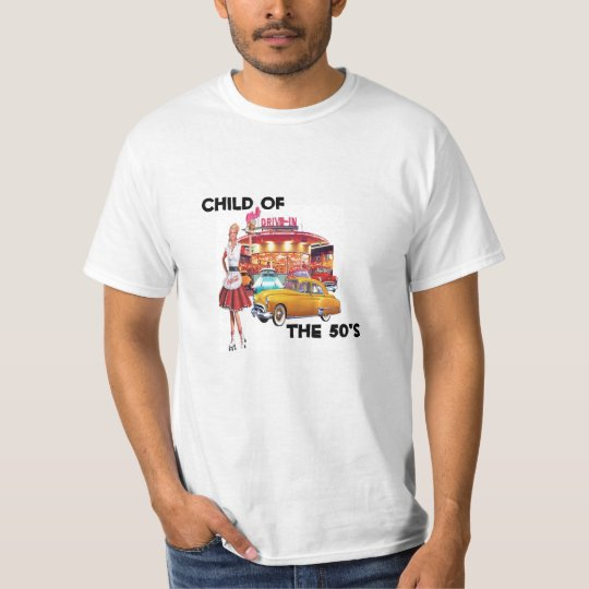 Child Of The 50's T-Shirt