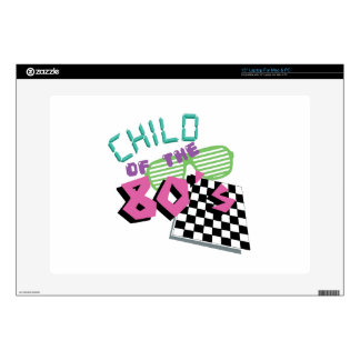 Child Of The 80's Decals For Laptops