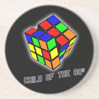 Child of the 80s sandstone coaster