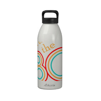 child of the 80s reusable water bottle