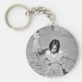 Child of the Depression Key Chains