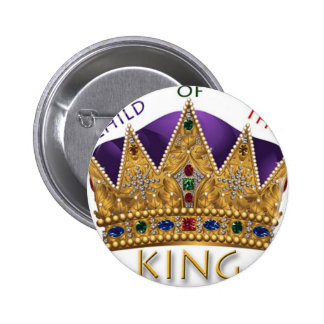 CHILD OF THE KING CROWN BUTTON
