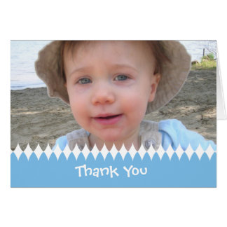 Child or Baby Thank You Photo Card