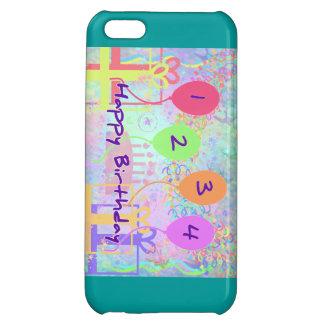 Child or Kid Birthday Four Years Happy Birthday! iPhone 5C Case