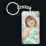 "Child Photo Keepsake Keychain<br><div class=""desc"">Child photo keepsake- change place holder photo to a picture of your own child.</div>"